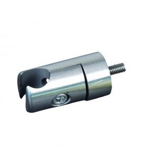 Pince à tôle / plat pour profil d'encadrement Ø10mm INOX304