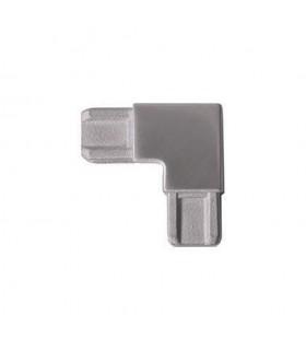 Raccord d'angle pour profil d'encadrement rectangulaire 18x12mm INOX304