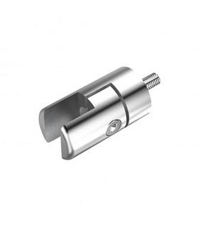 Pince à tôle sur plat pour profil d'encadrement 18x12mm INOX304
