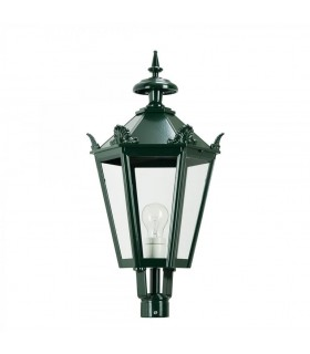Luminaire hexagonal K7Ckr avec couronne - 50cm