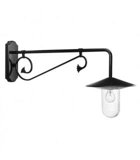 Luminaire LOUVRE en applique sous potence - 50cm