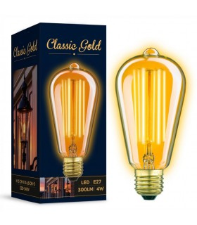 Ampoule Edison E27 4watt.