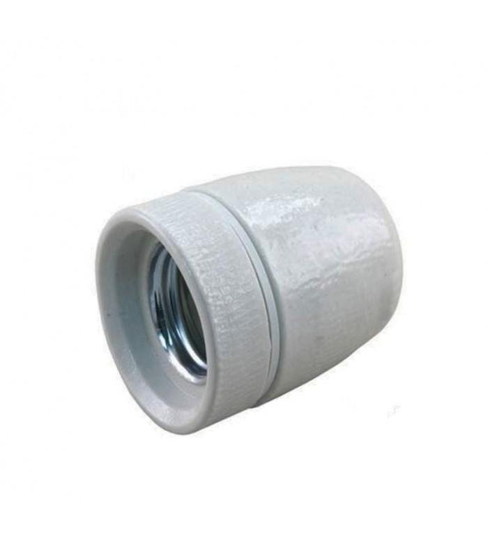 Douille en porcelaine E27. M10