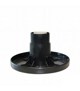 Support de globe plastique pour luminaire boule Ø30 ou 35cm