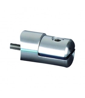 Pince à tôle Ø42,4mm pour plaque épaisseur 1 à 4mm INOX304