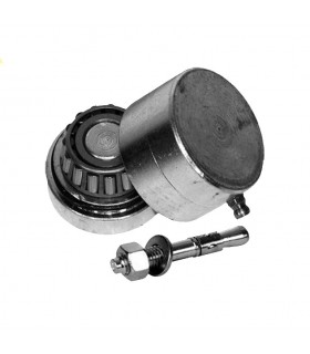 Pivot roulement bas Ø45mm 30x30mm