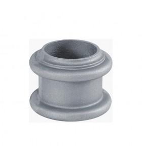 Rondelle décorative aluminium pour tube lisse Ø80mm