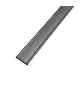 Main courante acier 40x8 3m