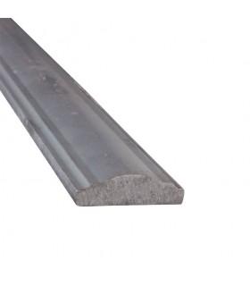 Main courante acier 40x12mm longueur 3m