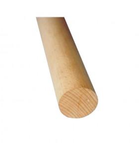 Main courante bois hêtre Ø48mm longueur 2m