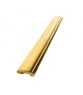 Main courante laiton 45x12mm longueur 2,25m
