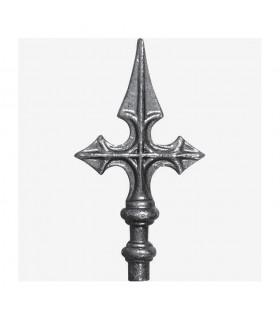 Pointe de lance en croix de Saint Jacques hauteur 160mm