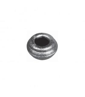 Olive, garniture manchon court en acier à souder pour barreau diametre 14mm