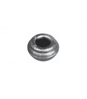 Manchon Garniture courte en acier à souder pour barre carrée de 14x14mm