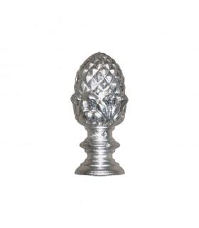 Pommeau de départ d'escalier ou de poteau de cloture en aluminium hauteur 110mm