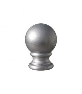 Boule pour coiffer un poteau ou un départ d'escalier en aluminium hauteur 85mm