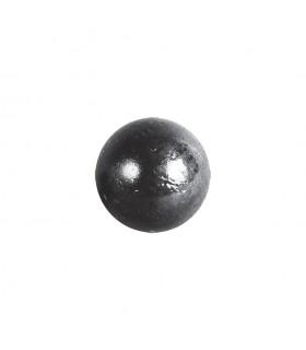 Bille boule de forge pleine lisse en acier forgé diametre 20mm