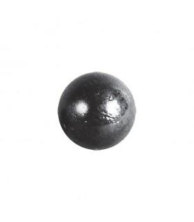 Bille boule de forge sphère pleine lisse en acier forgé diametre 25mm
