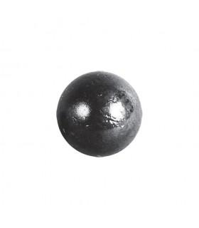 Bille boule de forge sphère pleine lisse en acier forgé diametre 30mm