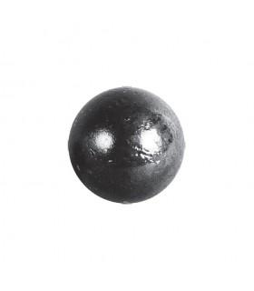Bille boule de forge sphère pleine lisse en acier forgé diametre 35mm