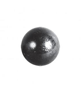 Bille boule de forge sphère pleine lisse en acier forgé diametre 40mm