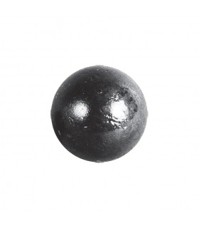 Bille boule de forge sphère pleine lisse en acier forgé diametre 60mm