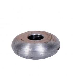 Bille boule méplate sphère en acier décolleté diamètre 20mm x 10mm sur plats