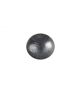 Boule bille semi sphérique méplate en acier forgé diametre 35mm 22mm sur plats