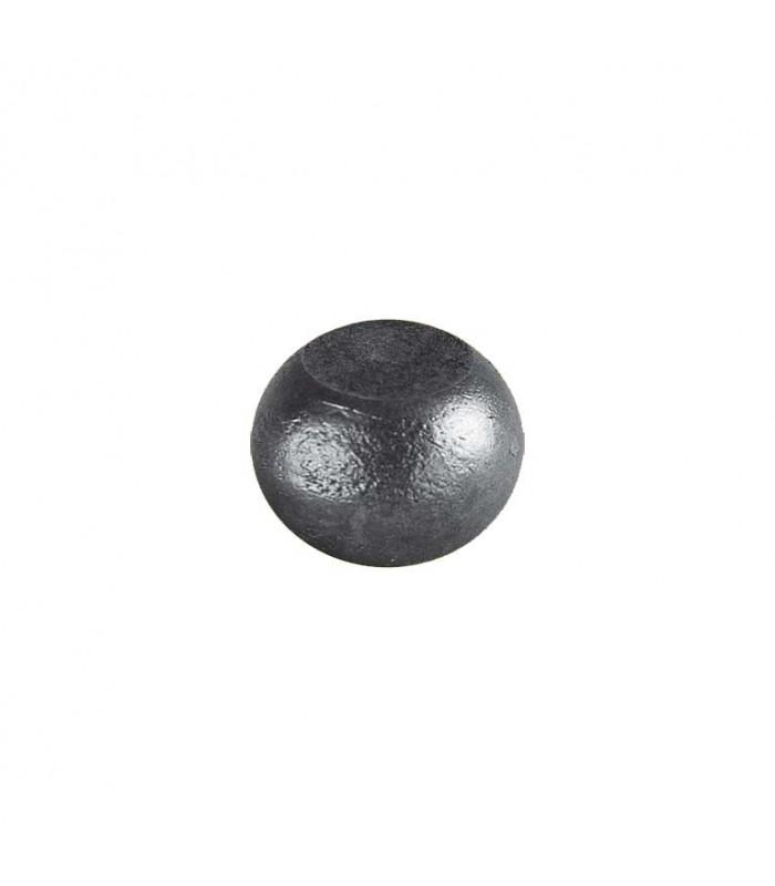 Boule bille méplate ø35mm x 22mm sur plats semi sphérique en acier forgé