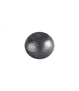 Boule bille semi sphérique méplate en acier forgé diametre 40mm 26mm sur plats