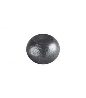 Boule bille semi sphérique méplate en acier forgé diametre 45mm 28mm sur plats