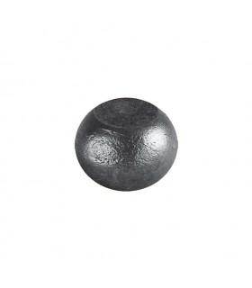 Boule bille semi sphérique méplate en acier forgé diametre 55mm 35mm sur plats