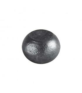 Boule bille semi sphérique méplate en acier forgé diametre 80mm 50mm sur plats