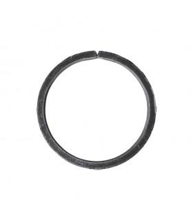 Cercle diamètre 100mm ext plat de 12x6mm en acier roulé non soudé.