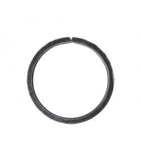 Cercle diamètre 110mm ext plat de 12x6mm en acier roulé non soudé.