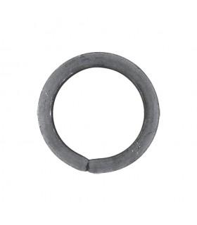 Cercle diamètre 110mm ext carré de 14x14mm en acier roulé non soudé.