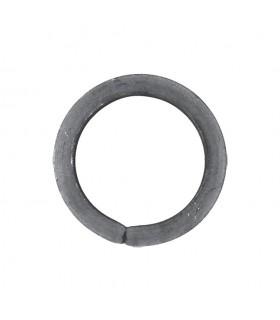 Cercle diamètre 110mm ext carré de 16x16mm anneau en acier roulé non soudé.