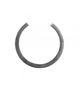 Cercle diamètre 110mm ext plat de 20x6mm lisse en acier roulé non soudé.