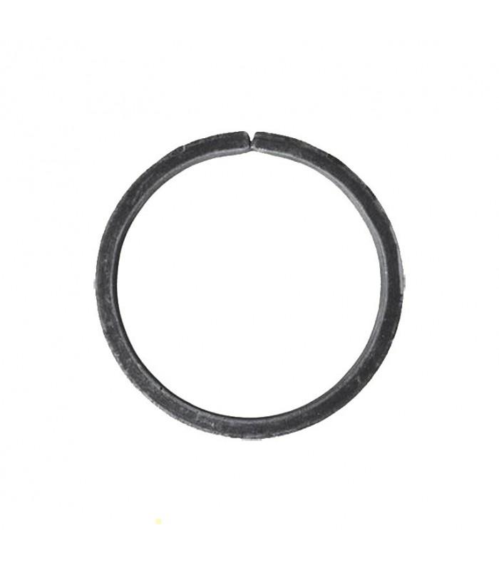 Cercle diamètre 100mm ext plat de 14x6mm en acier roulé non soudé.