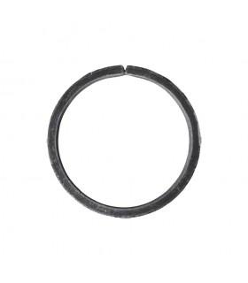 Cercle diamètre 100mm ext plat de 16x4mm en acier roulé non soudé.