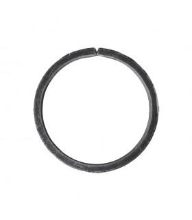 Cercle diamètre 110mm ext plat de 14x6mm en acier roulé non soudé.
