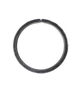 Cercle diamètre 120mm ext plat de 20x6mm en acier roulé non soudé.