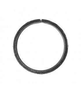 Cercle diamètre 120mm ext plat de 16x4mm en acier roulé non soudé.