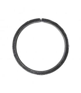 Cercle diamètre 125mm ext plat de 20x8mm en acier roulé non soudé.