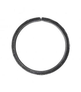 Cercle diamètre 135mm ext plat de 20x8mm en acier roulé non soudé.