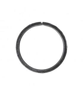 Cercle diametre 140mm plat de 40x8mm en acier roulé non soudé