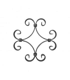 Panneau décoratif H230x230mm 16x4mm