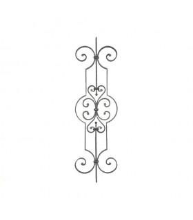 Panneau décoratif 1000x290mm plat de 16x8mm pour escalier et garde-corps
