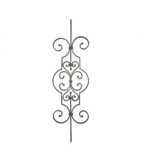 Panneau décoratif 1000x290mm plat de 16x8mm à noyaux pour escalier et garde-corps