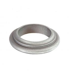 Bague aluminium pour tube lisse Ø100mm de poteau modulaire